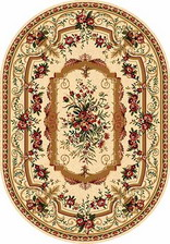 Ковер DA VINCI_5245, 1,5*2,3, OVAL, CREAM