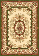 Ковер IZMIR_5393, 3*6, STAN, CREAM-GREEN