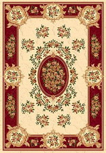 Ковер IZMIR_5394, 3*6, STAN, CREAM-RED