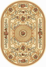 Ковер OLYMPOS_d170, 0,8*1,5, OVAL, CREAM