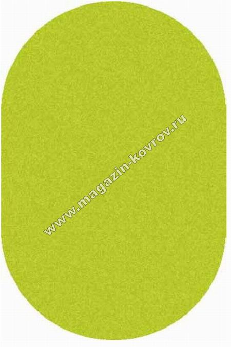 SHAGGY ULTRA_s600, 2*3, OVAL, GREEN