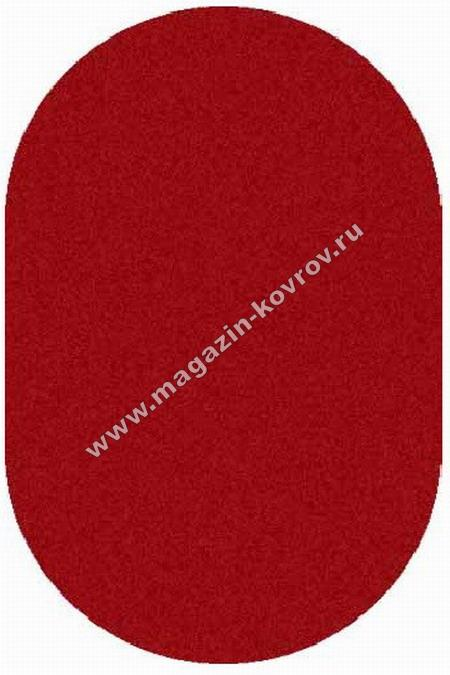 SHAGGY ULTRA_s600, 1,5*3, OVAL, RED