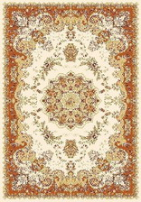 Ковер TEGERAN_6316, 0,8*1,4, OVAL, CREAM