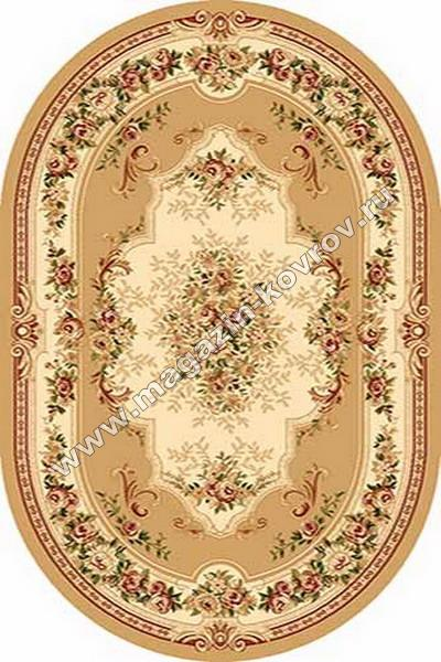 VALENCIA_4015, 0,8*1,5, OVAL, BEIGE