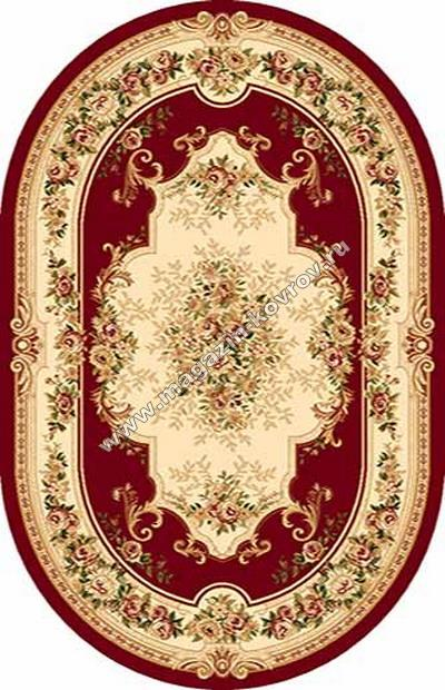 VALENCIA_4015, 2*3,5, OVAL, RED
