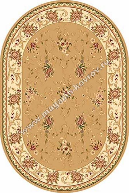 VALENCIA_5455, 1*2, OVAL, BEIGE