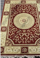 Ковер Woolen Machine-made carpets_ZY2339MA, 0,8*1,5, STAN, RED
