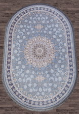 Ковер FARSI 1200_G253, 1,5*2,25, OVAL, Pale-Blue