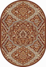 Ковер LAGUNA_D486, 2*3, OVAL, BROWN