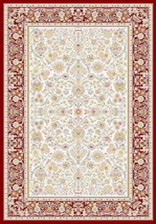Ковер MASHAD CLASSIC_02644A, 1,5*2,3, STAN, RED - RED