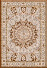 Ковер MASHAD ORIGINAL_02758A, 1,5*2,3, STAN, POLY.BROWN - POLY.BR