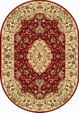 Ковер MILAN_d023, 3*5, OVAL, RED