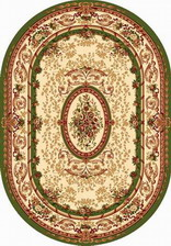 Ковер MILAN_w490, 2*5, OVAL, GREEN