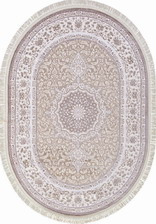 Ковер MOROCCO_D760, 0,8*1,4, OVAL, CREAM