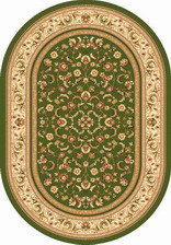 Ковер OLYMPOS_d392, 1,5*2,3, OVAL, GREEN
