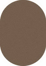 Ковер PLATINUM_t600, 1,5*2,3, OVAL, D.BEIGE-BROWN