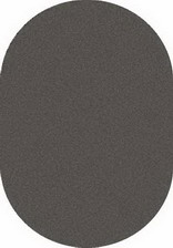 Ковер PLATINUM_t600, 2*3, OVAL, GRAY-BLACK