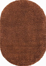 Ковер SHAGGY ULTRA_s600, 2*3, OVAL, BROWN