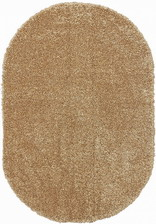 Ковер SHAGGY ULTRA_s600, 1,2*1,8, OVAL, DARK BEIGE