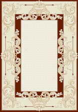 Ковер TIBET KLASIK_1947, 0,8*1,5, STAN, CREAM-RED