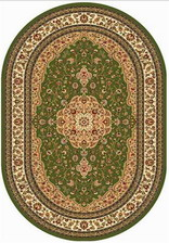 Ковер VALENCIA_D402, 2*3, OVAL, GREEN