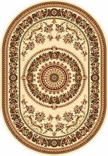 Ковер DA VINCI_5246, 2*3, OVAL, CREAM