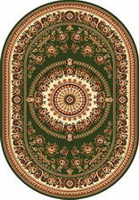 Ковер DA VINCI_5246, 1,5*3, OVAL, GREEN