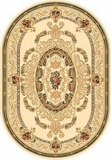 Ковер OLYMPOS_d058, 1,5*3, OVAL, CREAM