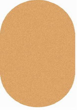 Ковер SHAGGY ULTRA_s600, 1*2, OVAL, DARK BEIGE