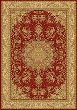 Ковер IMPERIAL_001576, 0,8*1,5, OVAL, RED
