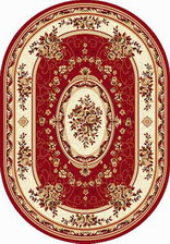 Ковер LAGUNA_5444, 2*5, OVAL, RED