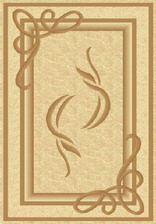 Ковер PACIFIC CARVING_0094, 1*3, STAN, CREAM - CREAM