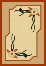 Ковер PACIFIC CARVING_0275, 1*3, STAN, CREAM - BEIGE